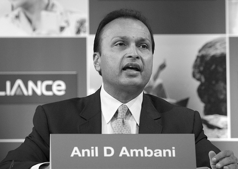 Anil Ambani, patron du groupe Reliance